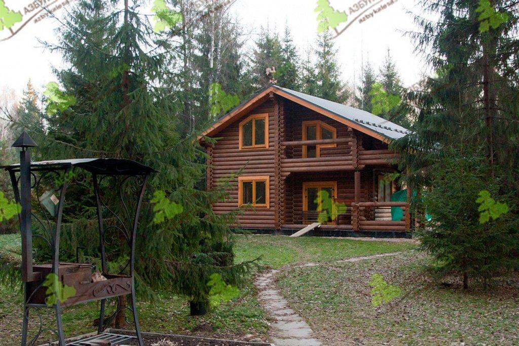 Дома из оцилиндрованного бревна от АЗБУКИ ЛЕСА