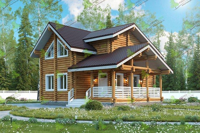 проект дома от АЗБУКИ ЛЕСА